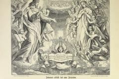 Het hemels Jeruzalem uit het album van Julius Schnorr von Carolsfeld.