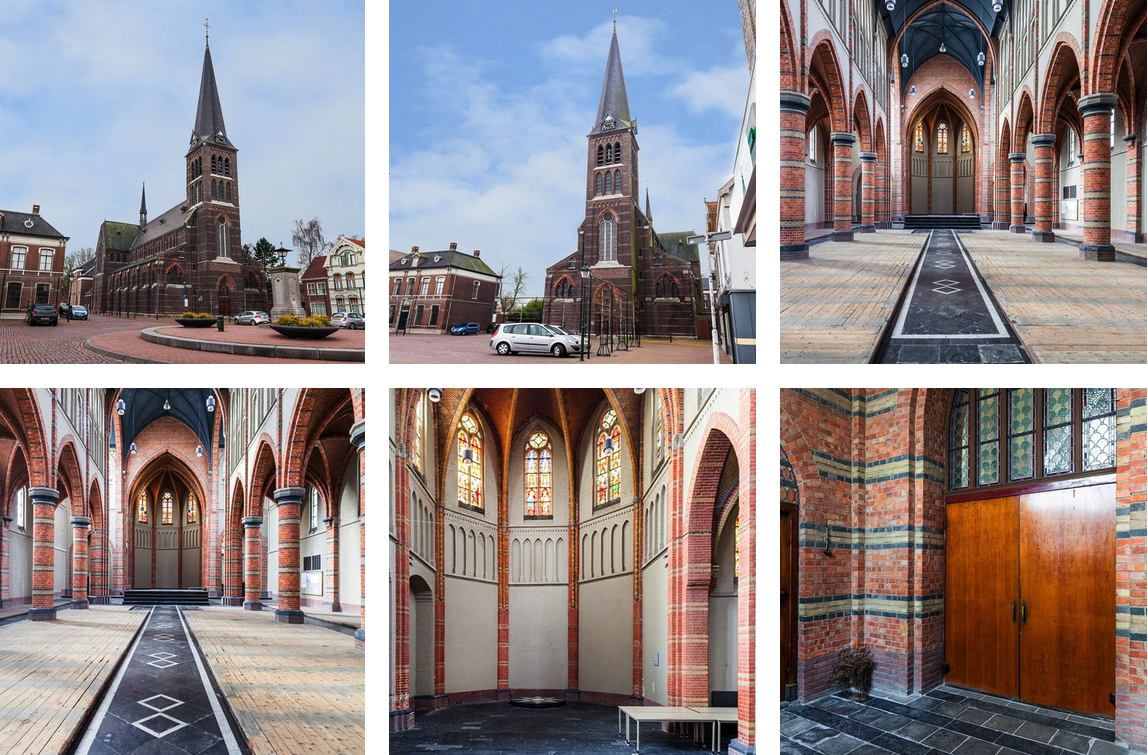 Onttakelde kerk Joseph Cuypers Sas van Gent